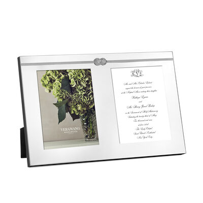 """Vera Wang for Wedgwood """"Infinity"""" Double Frame, , default"""