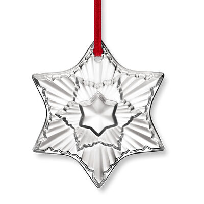 Baccarat 2020 Annual Crystal Ornament