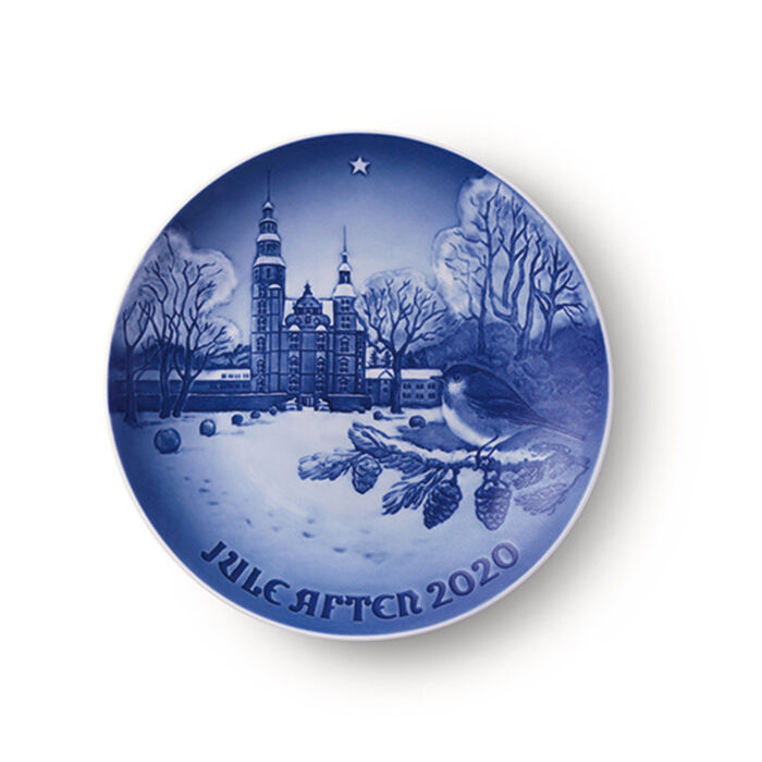 Bing & Grondahl 2020 Annual Porcelain Christmas Plate - 126th Edition