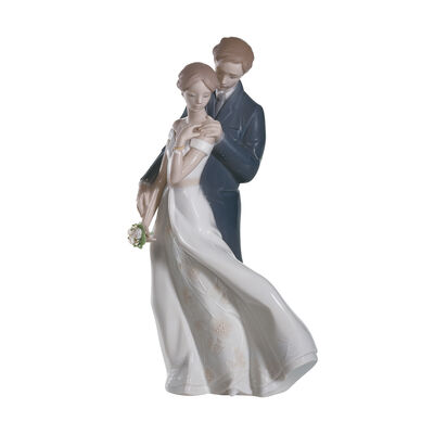 "Lladro ""Everlasting Love"" Porcelain Figurine, , default"