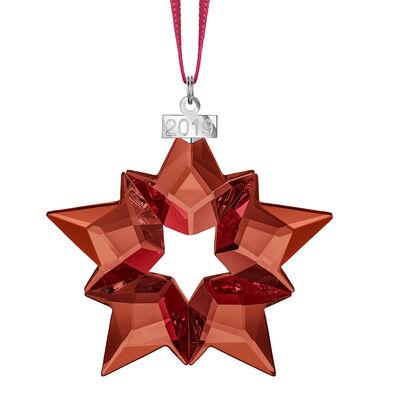 Swarovski Crystal 2019 Annual Red Star Ornament, , default