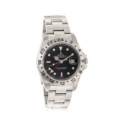 Certified Pre-Owned Rolex Explorer II Men's 40mm Automatic Watch in Stainless Steel, , default