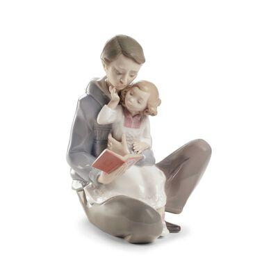 """Nao """"Read Me a Story"""" Porcelain Figurine, , default"""
