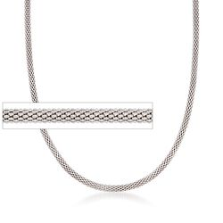 Italian 2.8mm Sterling Silver Popcorn Chain, , default