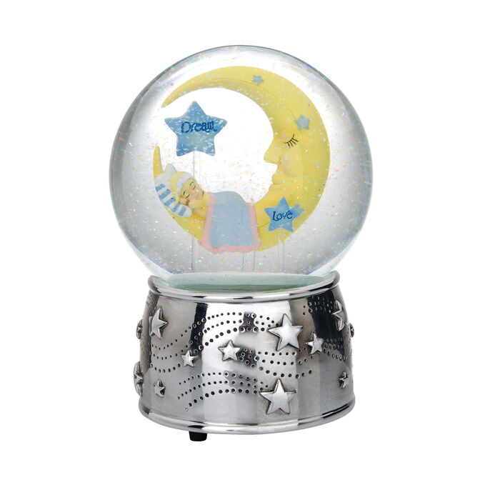 "Reed & Barton ""Sweet Dreams"" Silver Plate Water Globe, , default"
