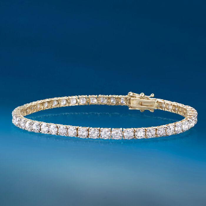 8.00 ct. t.w. Diamond Tennis Bracelet in 14kt Yellow Gold