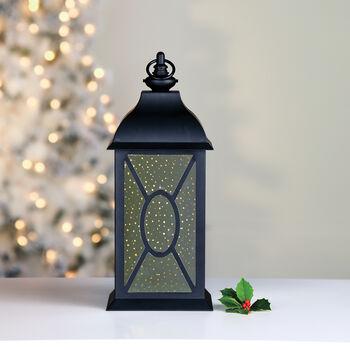 "Mr. Christmas 17"" Black Mercury Glass Lantern, , default"