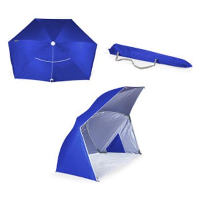 Brolly Beach Blue Umbrella Tent