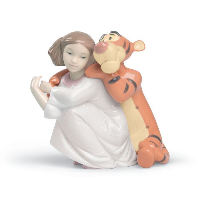 "Nao ""Hugs with Tigger"" Porcelain Figurine, , default"