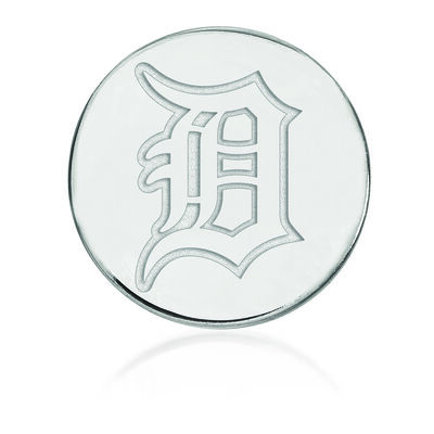 Sterling Silver MLB Detroit Tigers Lapel Pin, , default
