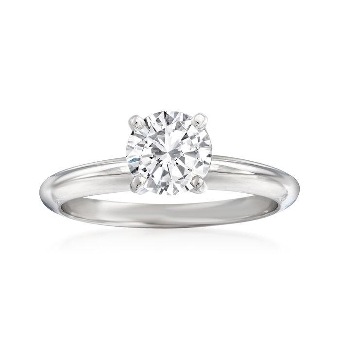 .95 Carat Diamond Ring in 14kt White Gold