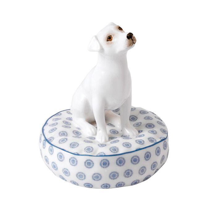 "Royal Doulton ""Top Dog - Bones"" Bone China Jack Russell Figurine, , default"