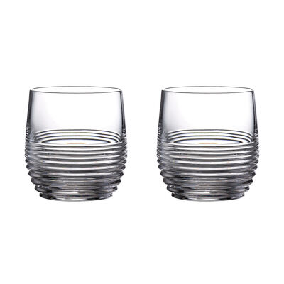 "Waterford Crystal ""Mixology Circon"" Set of 2 Tumbler Glasses"
