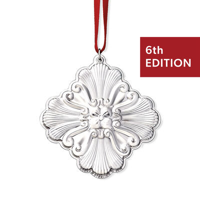 Gorham 2019 Annual Sterling Silver Cross Ornament - 6th Edition