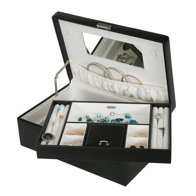 "Mele & Co. ""Bijou"" Faux Leather Jewelry Box"