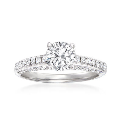 .43 ct. t.w. Diamond Ring in 14kt White Gold