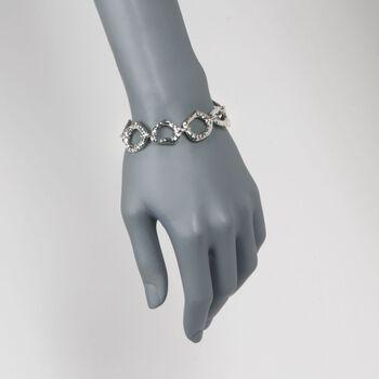 "Zina Sterling Silver ""Touchstone"" Link Bracelet. 7"", , default"