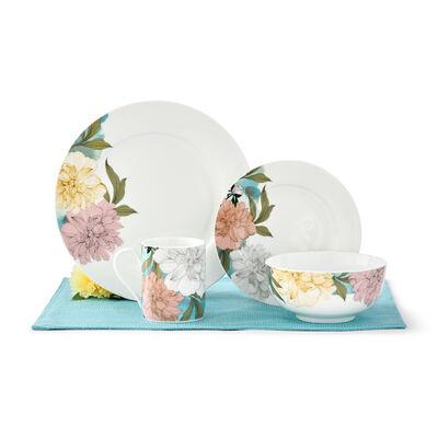 "Spode ""Floral Sketches"" 16-pc. Dinnerware Set Service for 4, , default"