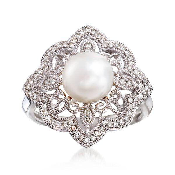Jewelry Pearl Rings #892437
