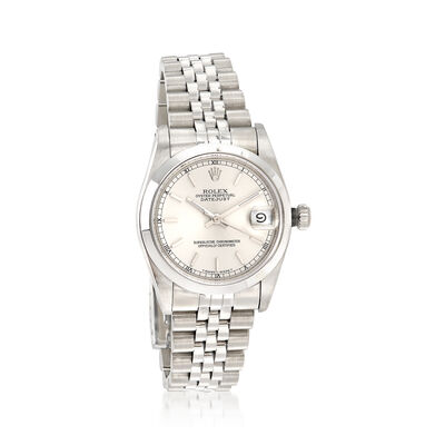 Certified Pre-Owned Rolex Datejust Women's 31mm Automatic Stainless Steel Watch, , default
