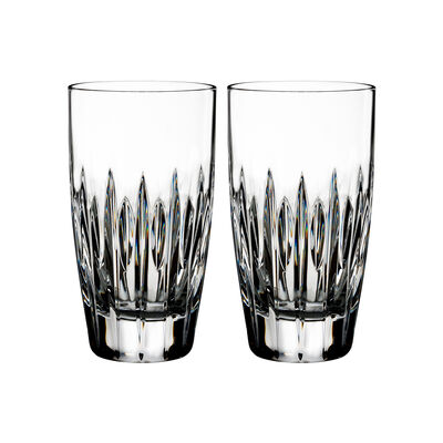 "Waterford Crystal ""Ardan"" Set of Two Mara Highball Glasses, , default"