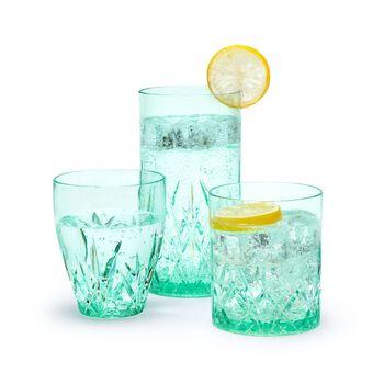 """Aurora"" Seaglass Green Acrylic Drinkware, , default"