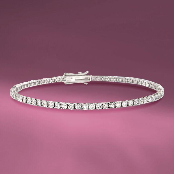 3.50 ct. t.w. Diamond Tennis Bracelet in 14kt White Gold