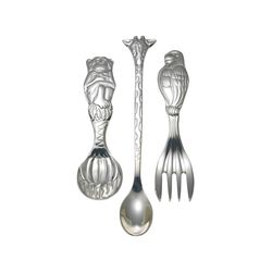 "Reed & Barton ""Silver Safari"" Child's Silver Plate Flatware, , default"