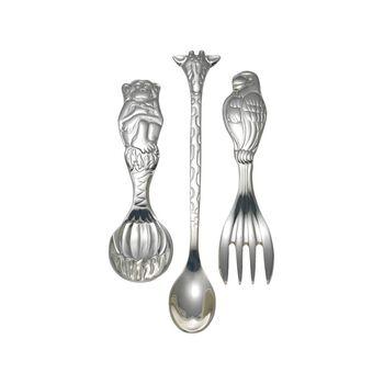 """Reed & Barton """"Silver Safari"""" Child's Silver Plate Flatware, , default"""