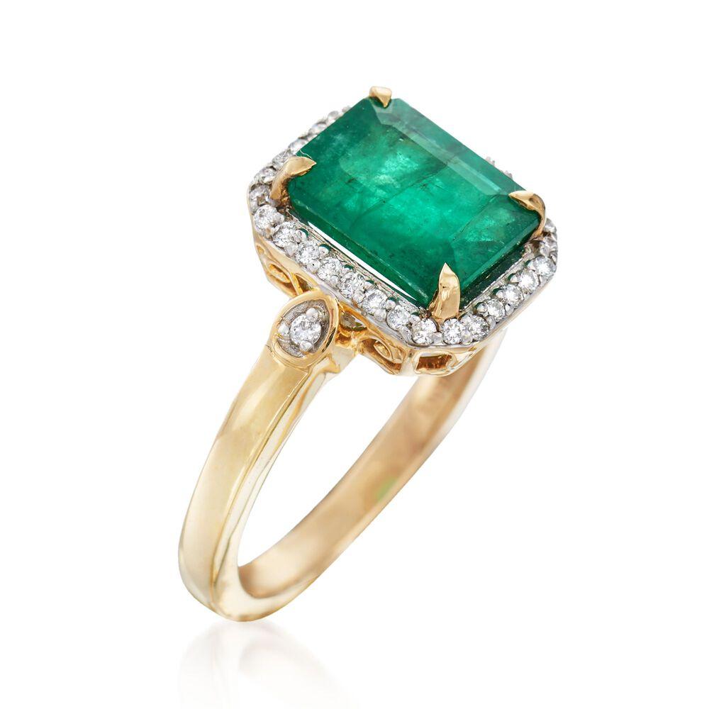 Ross Simons Emerald Rings