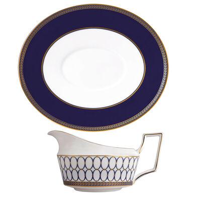 "Wedgwood ""Renaissance Gold"" Gravy Serveware"