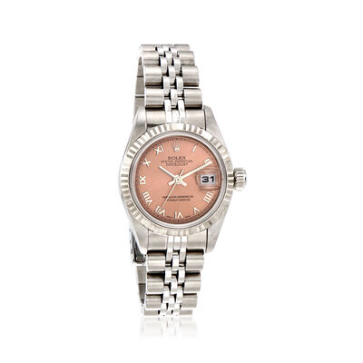Pre-Owned Rolex Datejust Women's 26mm Automatic Watch in Stainless Steel, , default