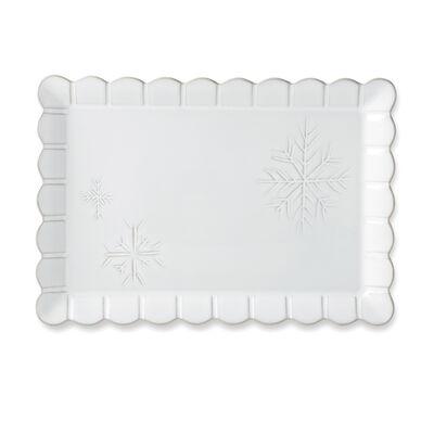 "Lenox ""Alpine"" Carved Rectangular Platter, , default"
