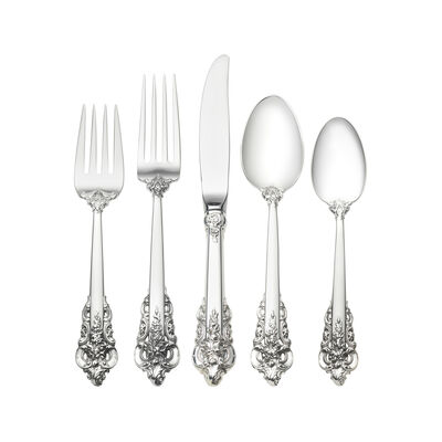 "Wallace ""Grande Baroque"" 46-pc. Service for 8 Sterling Silver Place Setting"