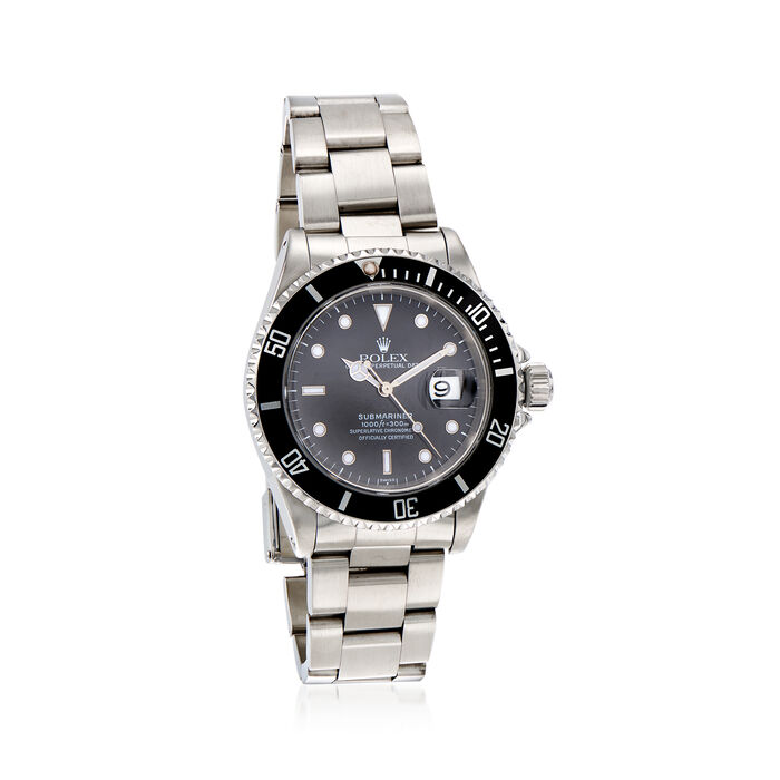 Pre-Owned Rolex Submariner Men's 40mm Automatic Stainless Steel Watch, , default