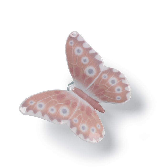 """Nao """"Hazy Sunshine Butterfly"""" Porcelain Figurine"""