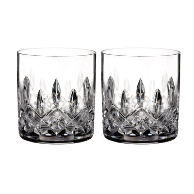 "Waterford Crystal ""Connoisseur"" Set of 2 Lismore Straight-Sided Tumbler Glasses, , default"