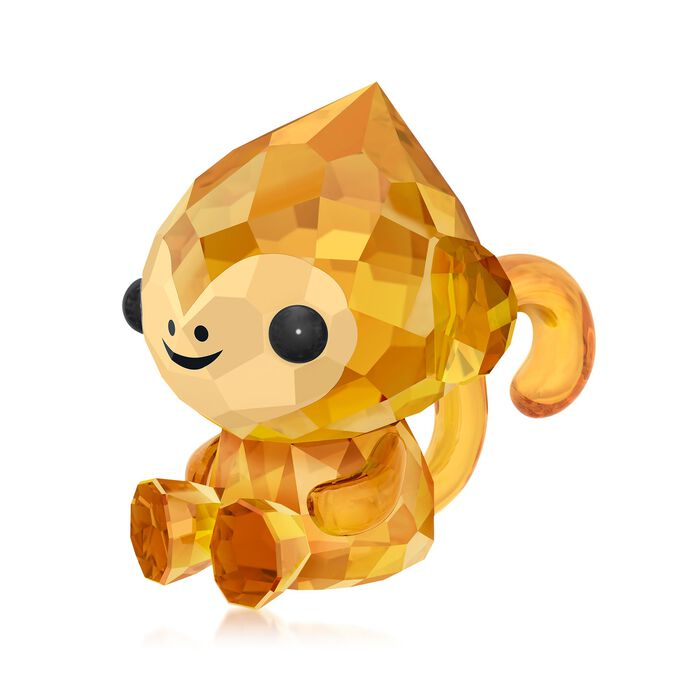 "Swarovski Crystal ""Cheerful Monkey - Chinese Zodiac"" Crystal Figurine"