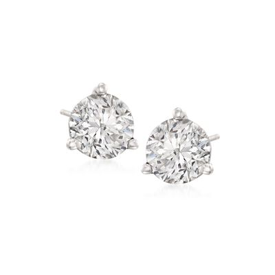 2.00 ct. t.w. Diamond Martini Stud Earrings in Platinum , , default