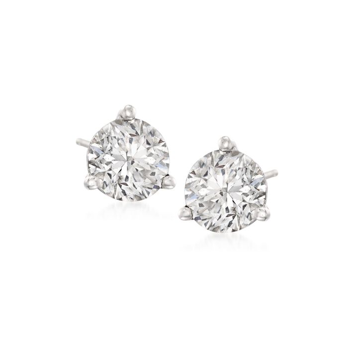 2.00 ct. t.w. Diamond Martini Stud Earrings in Platinum, , default