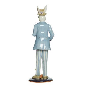 "Fitz and Floyd ""Floral Splash"" Male Rabbit Figurine, , default"