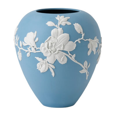 """Wedgwood """"Magnolia Blossom"""" Vase, , default"""