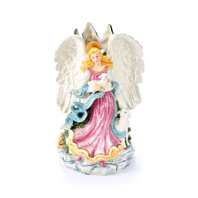 "Fitz and Floyd ""White House"" Christmas Angel Vase, , default"