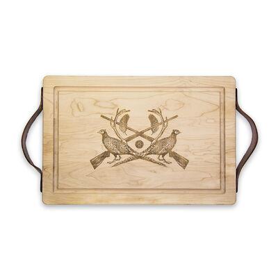Sporting Luxe Maple Wood Cutting Board