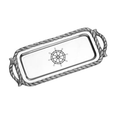 "Wilton Armetale ""Nautical"" Bread Tray, , default"