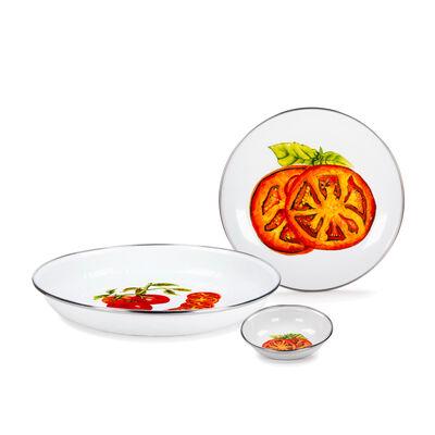 """Golden Rabbit """"Tomatoes"""" Dinnerware, , default"""