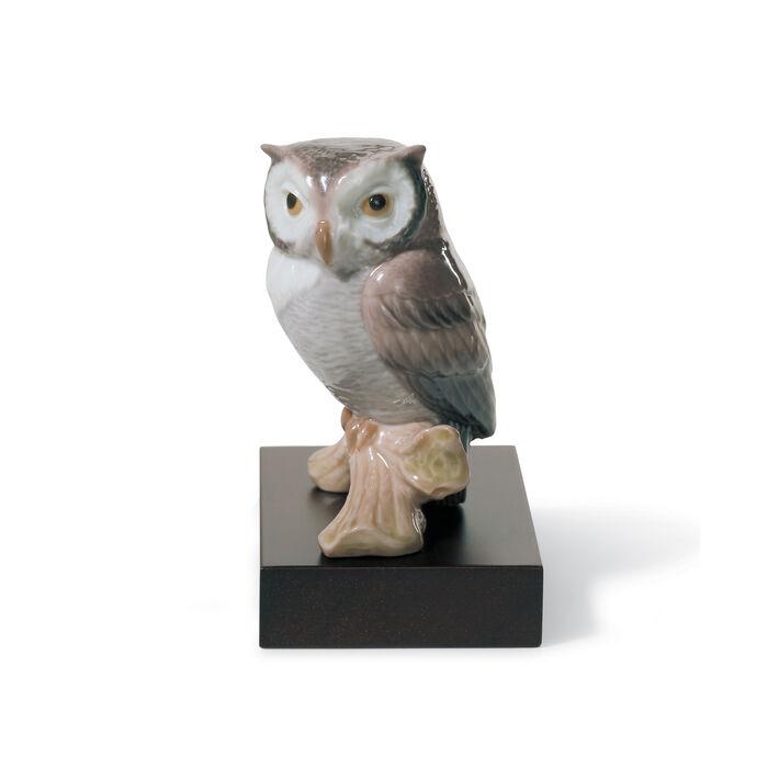 "Lladro ""Lucky Owl"" Porcelain Figurine , , default"