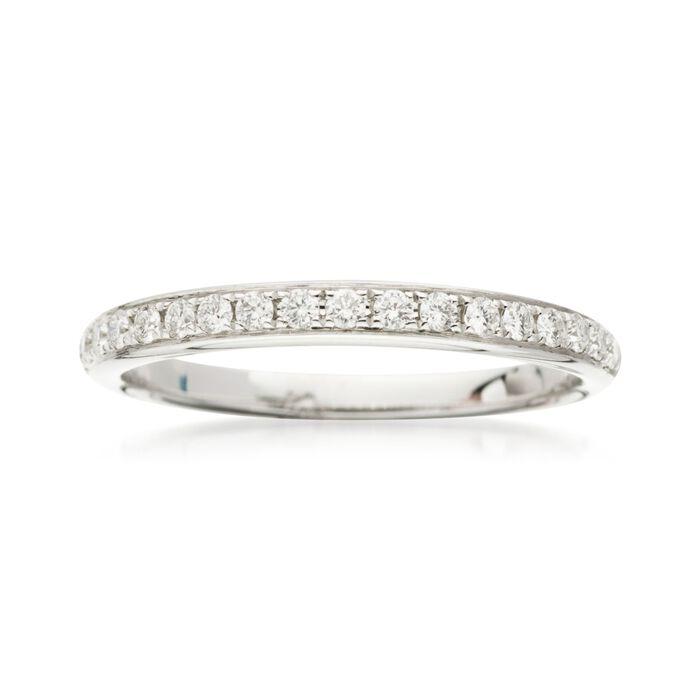 .25 ct. t.w. Diamond Wedding Ring in 18kt White Gold