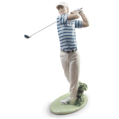 "Lladro ""Golf Champion"" Figurine, , default"