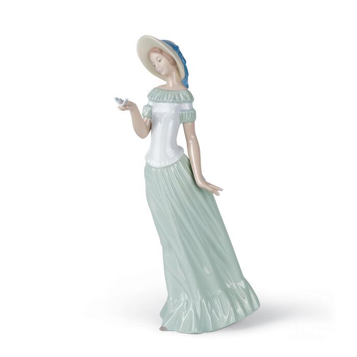 "Nao ""The Butterflies Dance"" Porcelain Figurine, , default"